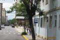 Para ajeitar Ponto de ônibus na Praça, ônibus vão ficar estacionados ao lado do Hospital?