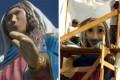 Nossa Senhora de Caravaggio ganha plástica em Farroupilha