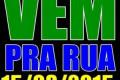 VemPráRua 15 03 15 em Farroupilha as 16 h ao lado do clube do comércio